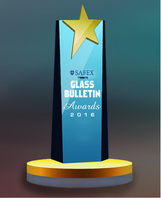 Best Innovation Product Winner at SAFEX Glass Bulletin Awards 2016
